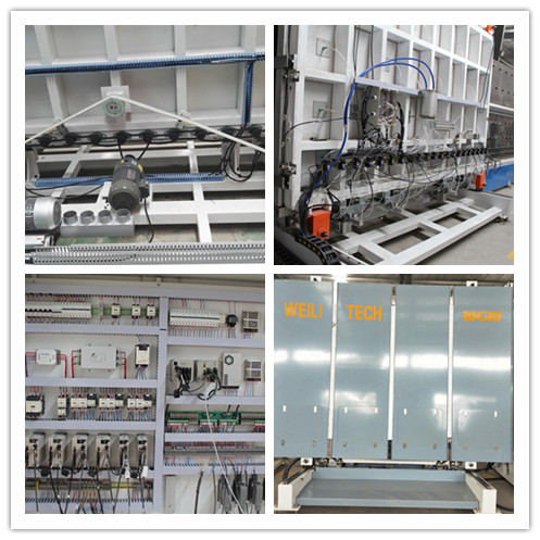 37.5KW Argon Gas Filling Machine , Vertical Automatic Insulating Glass Line