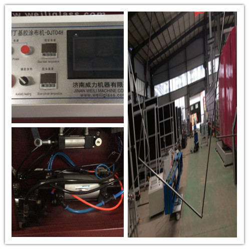 Automatic Hot Melt Butyl Machine High Efficiency For Aluminum Spacer Bar