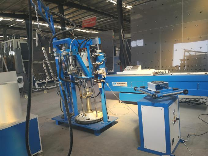 Korea Motors Insulating Glass Sealing Machine , Double Glazing Equipment