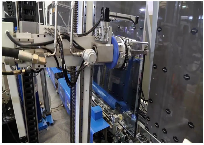 Automatic Double Glass Sealing Machine 3 Meters High YASKAWA Control System