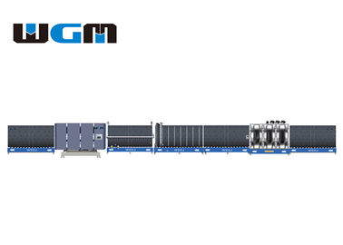 High Efficiency Insulating Glass Line With 2-12m/Min Washing Glass Speed