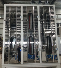 China Vertical Automatic Glass Washing And Drying Machine 3.5 Meters Height factory