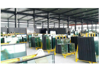China 30kw CE Approval Insulating Glass Line 3 Meters Height With Multi Funciton factory