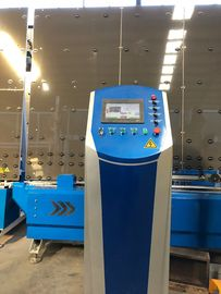 China Vertical Insulating Glass Line , Glass Sealing Machine With Sealing Robot factory