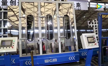 High Efficiency Vertical Glass Washing And Drying Machine CE & SGS Certification