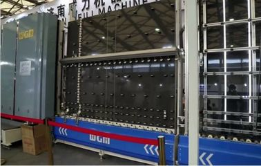 China 2.1 Meters Long Double Glazing Manufacturing Equipment Omron PLC Controlled factory