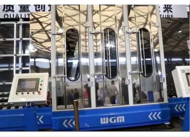 China 18.5KW High Pressure Automatic Glass Washer With 6 Brushes , Low Noise Blower factory