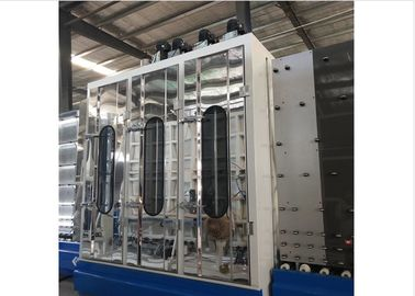 ISO Low - E Glass Washing And Drying Machine Double Glass Making Machine